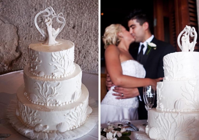 Outrigger honolulu wedding cakes