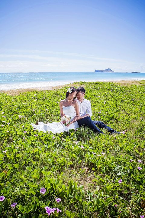Hawaii engagement photography